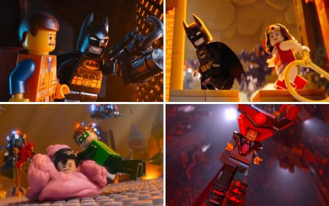 The lego movie batman emmet