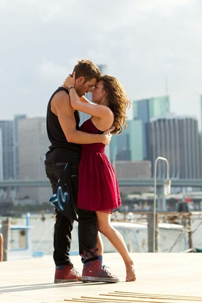 Stephen Boss and Kathryn McCormick in Step Up 4