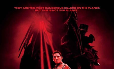 Adrien Brody Fights Off Predators on Three New International Posters!