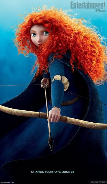 Brave: Merida Character Poster