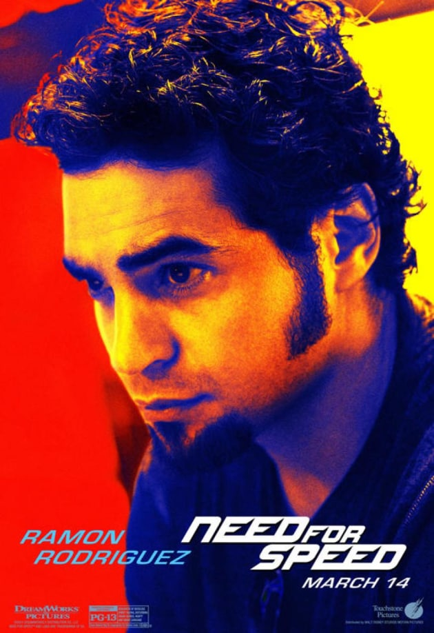 Need for Speed Ramon Rodriguez Poster