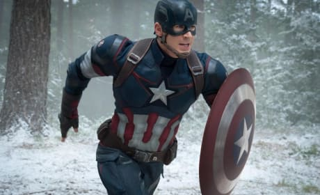 Chris Evans Eager to Continue Playing Captain America