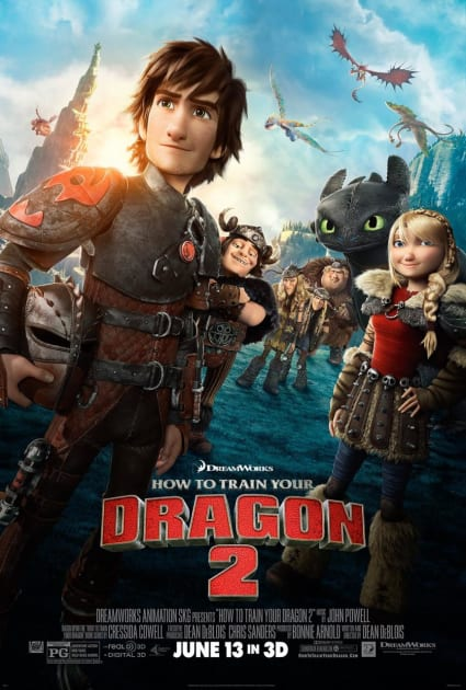 Gang's All Here in How to Train Your Dragon 2 Poster