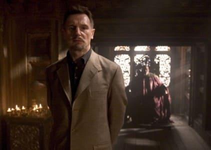 Liam Neeson is Ra's al Ghul in Batman Begins