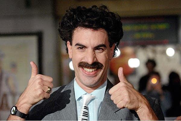 Sasha Baron Cohen Borat