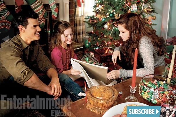Jacob, Renesmee and Bella Breaking Dawn Part 2 Image