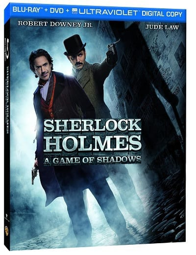Sherlock Holmes A Game of Shadows Blu-Ray
