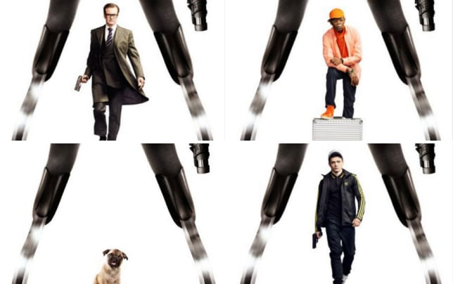 Kingsman colin firth character poster