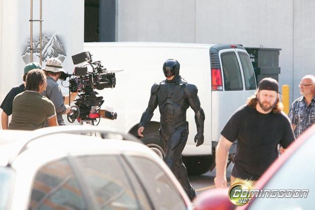RoboCop Set Photo