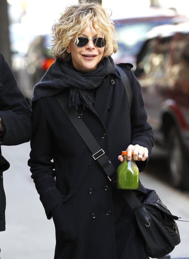 Actress Meg Ryan