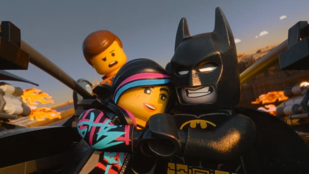 The LEGO Movie Batman Wyldstyle