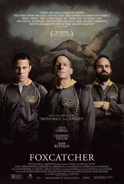 Foxcatcher Cast Poster