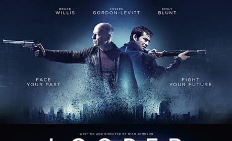 Looper International Poster: Past vs. Future