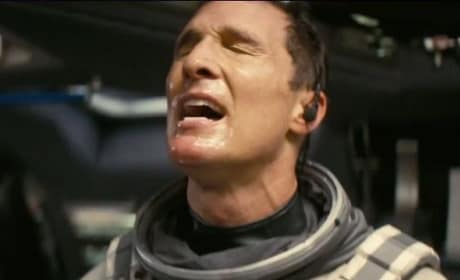 Matthew McConaughey Stars In Interstellar
