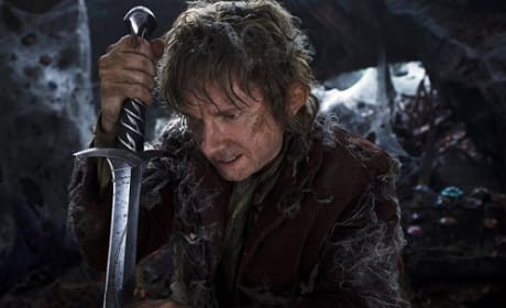 The Hobbit Photo: Bilbo Baggins and His Sword