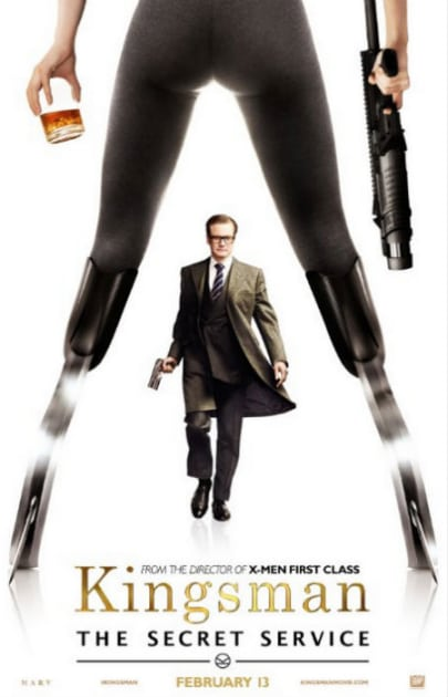 Colin Firth Character Poster