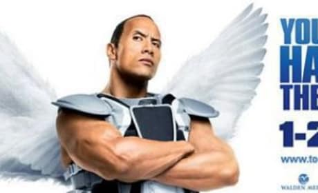 Dwayne Johnson Looks Downright Foolish on the Tooth Fairy Poster
