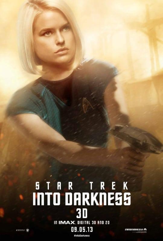 Star Trek Into Darkness Alice Eve Poster