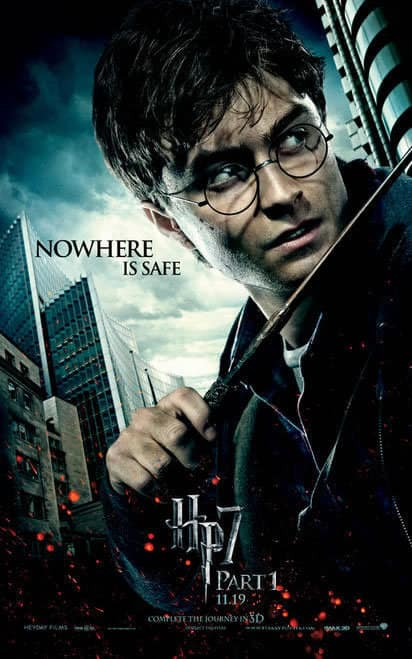 Harry Deathly Hallows Character Poster