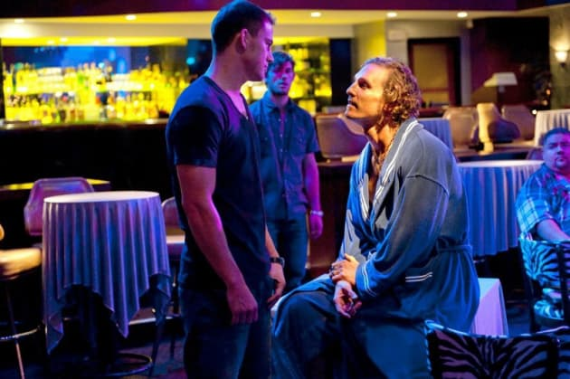 Magic Mike Still: Channing Tatum and Matthew McConaughey