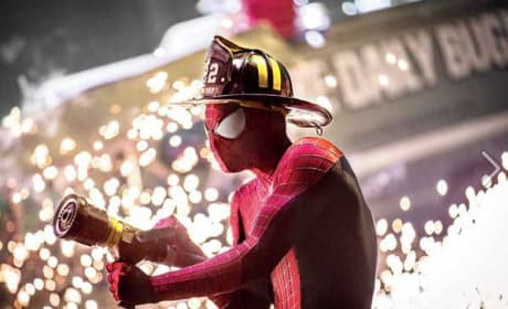 The Amazing Spider-Man 2 Photos: Spidey Fights Fires?