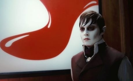 Johnny Depp Stars as Barnabas Collins