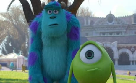 Sulley and Mike in Monsters University