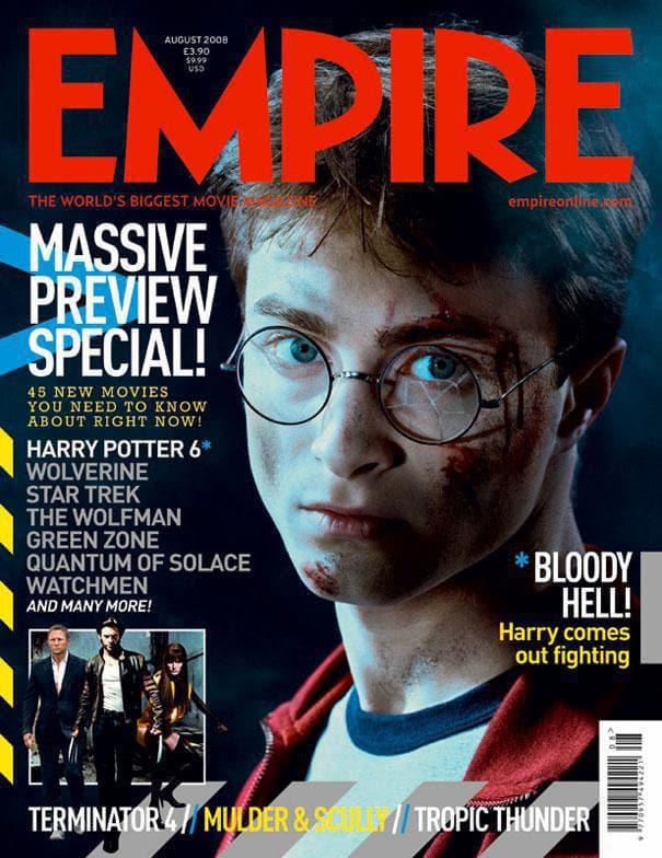 Daniel Radcliffe, Empire Magazine