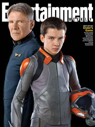 Ender's Game Entertainment Weekly Cover