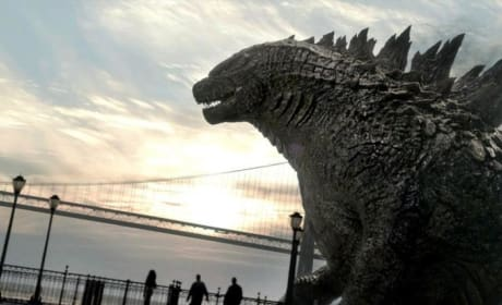 Godzilla Photo: Say Hello to My Big Friend