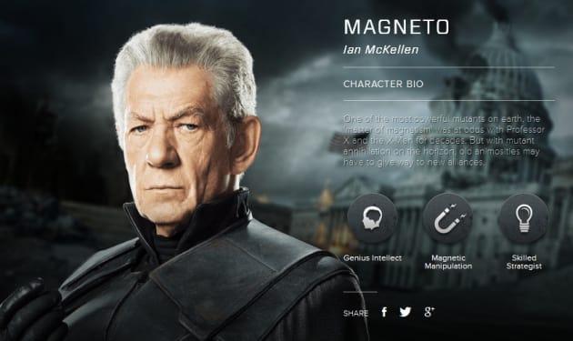 X-Men Days of Future Past Magneto Bio Banner