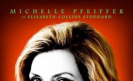 Michelle Pfeiffer Dark Shadows Character Poster