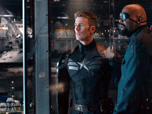 Captain America: Winter Soldier Chris Evans Samuel L. Jackson