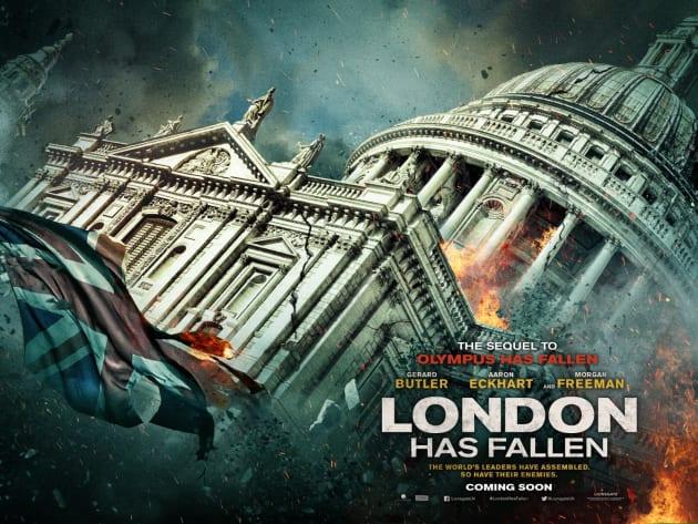 London Has Fallen Parliament Poster