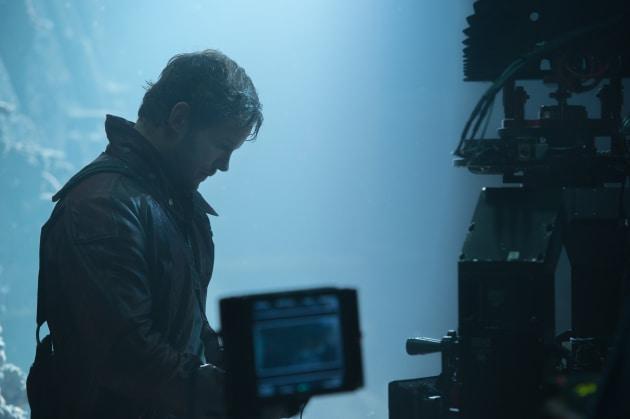 Chris Pratt Guardians of the Galaxy Set