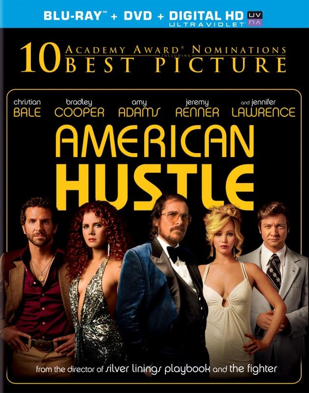 American Hustle DVD