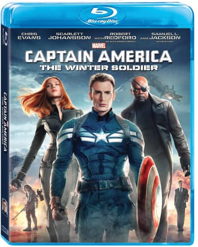 Captain America: The Winter Soldier Blu-Ray