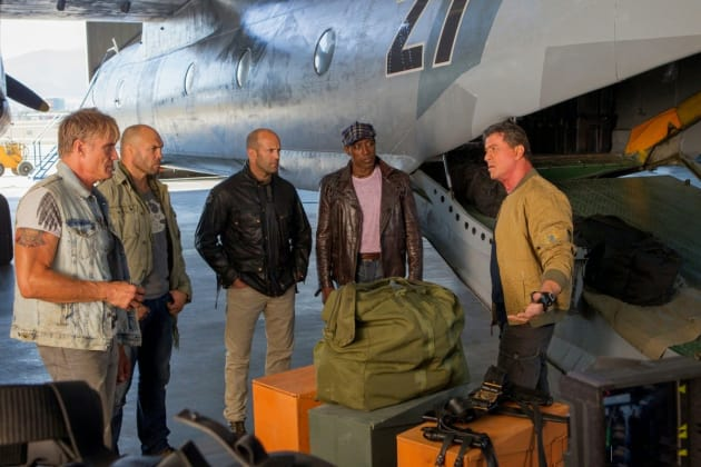 The Expendables 3 Sylvester Stallone Jason Statham Wesley Snipes