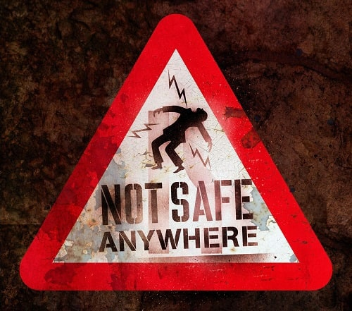 The Darkest Hour Warning Sign: Not Safe Anywhere