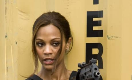 Zoe Saldana as Aisha