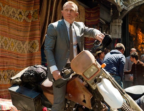 Skyfall Star Daniel Craig