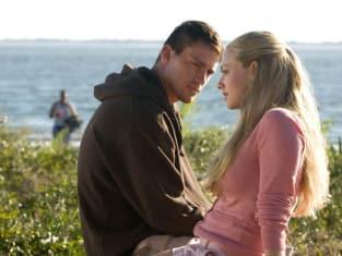 Amanda Seyfried and Channing Tatum on the Beach