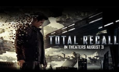 Total Recall: Colin Farrell Disappears in Motion Poster