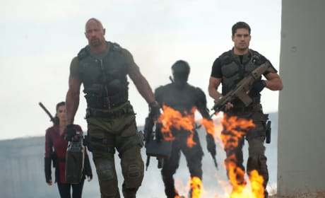 G.I. Joe Retaliation D.J. Cotrona Dwayne Johnson