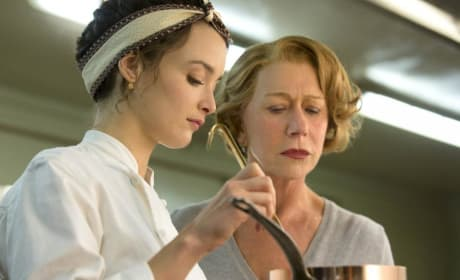 The Hundred Foot Journey Helen Mirren Charlotte Le Bon