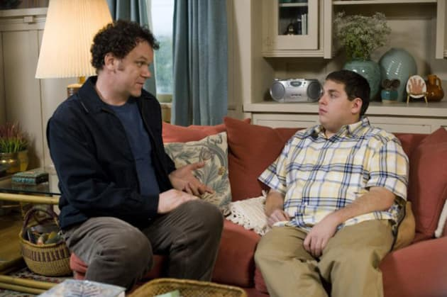 John and Cyrus Have a Talk