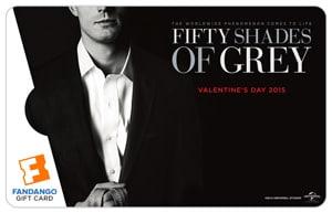 Fandango Fifty Shades of Grey Gift Card