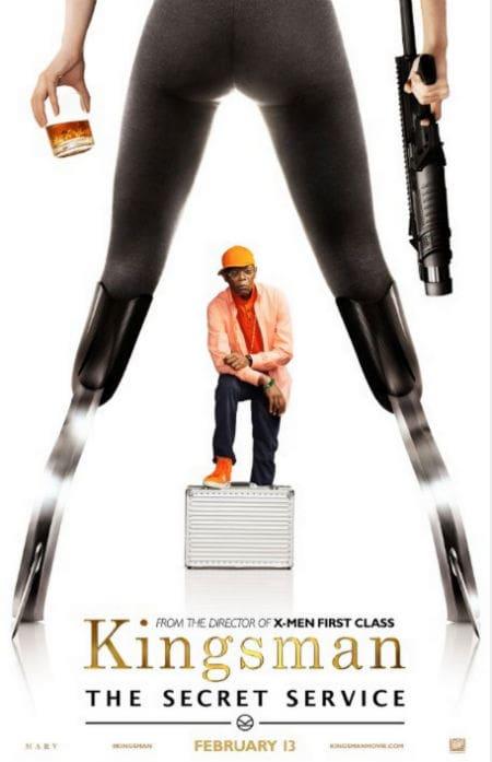 The Kingsman Samuel L. Jackson Character Poster
