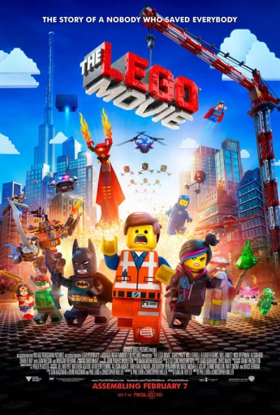 The LEGO Movie Cast Poster