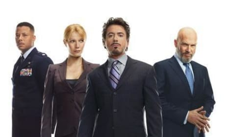 An Iron Man Promotional Photo